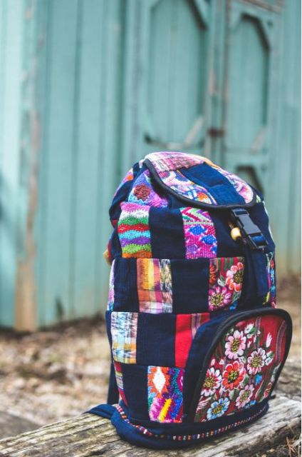 Fair Trade Patch Backpack