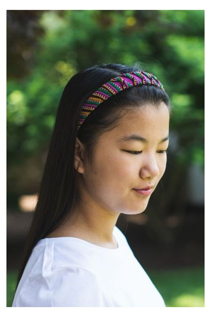 Fair Trade Handmade Guatemalan Toto Headband