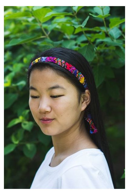 Headband Fair Trade Tie Headband