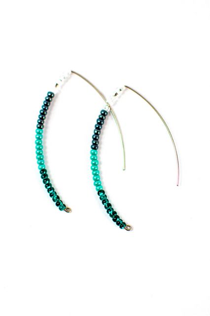 Fair Trade Handmade Guatemalan Beaded Styx Earring