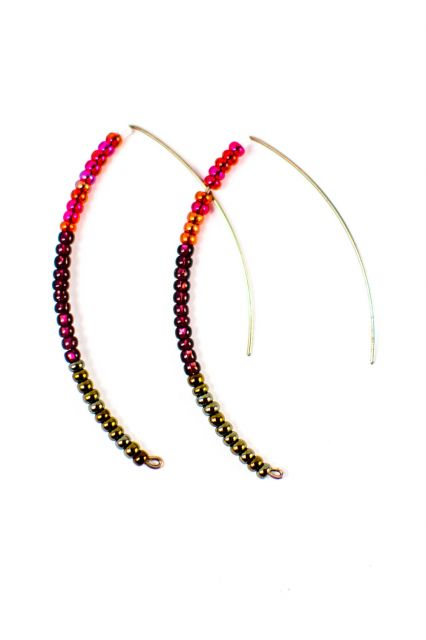 Fair Trade Handmade Guatemalan Beaded Styx Earring