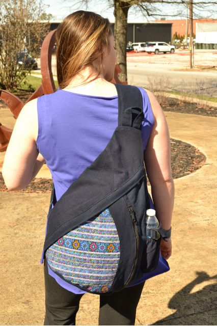 Fair Trade Handmade Guatemalan Todo Santos Sling Backpack