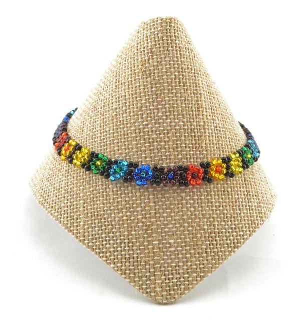 rainbow, pride, fair trade, jewelry, bracelet, Guatemala