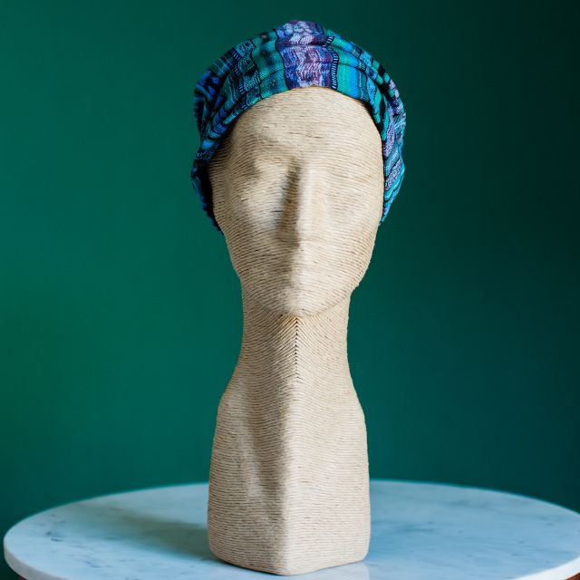 Corte Mask Headband Fair Trade Guatemalan