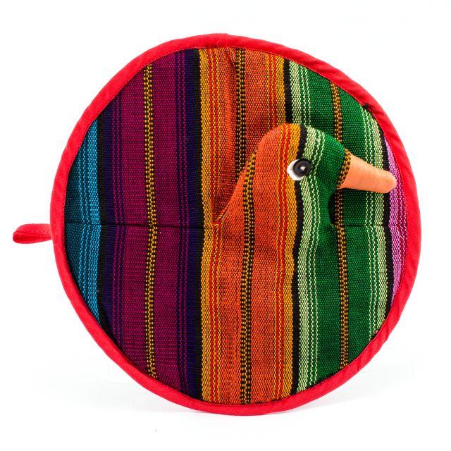 duck pot holder fair trade guatemalan home goods cotton