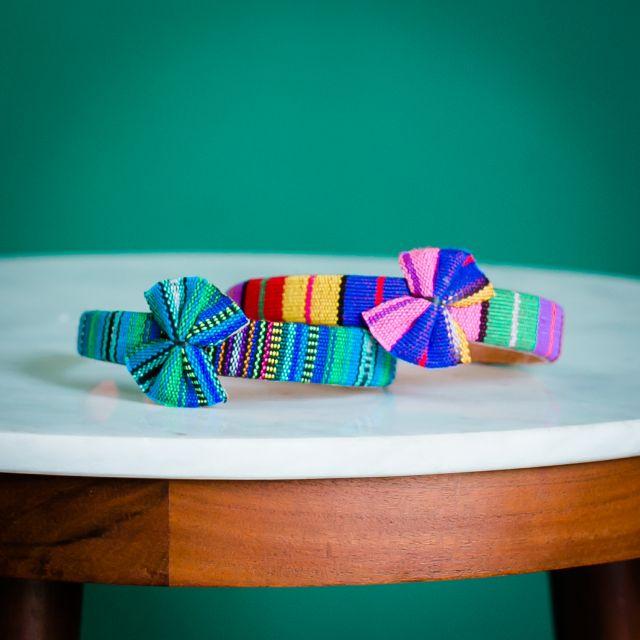 Lucia's Imports Fair Trade Handmade Guatemalan Headband with Bow