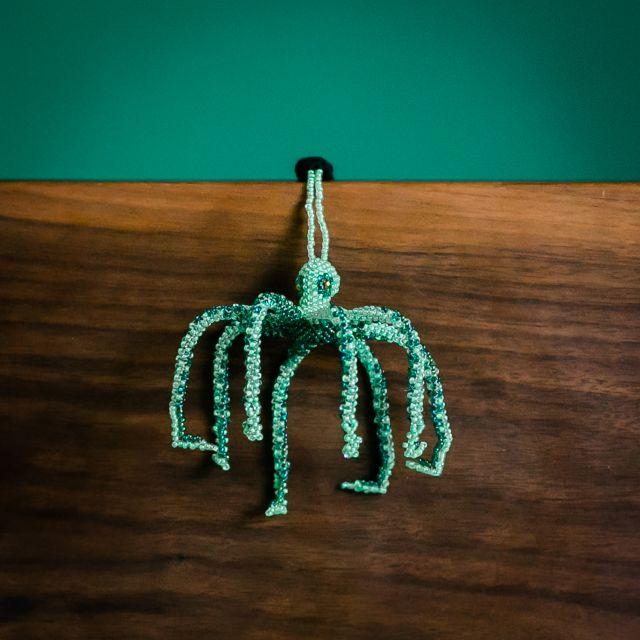 Octupus Beaded Ornament