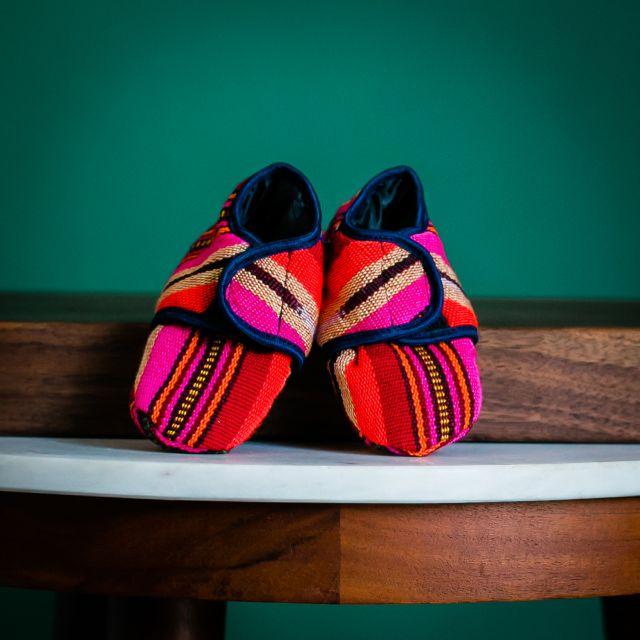 Fair Trade Handmade Guatemalan Velcro Baby Shoes