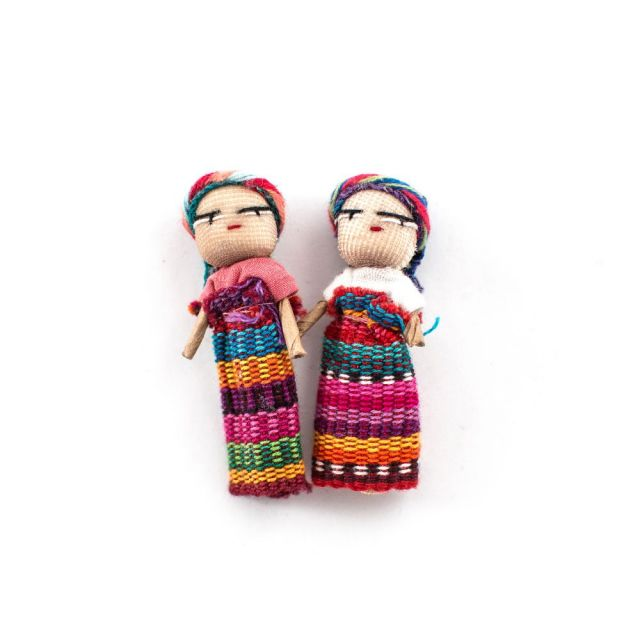 Fair Trade Handmade Guatemalan Small Worry Doll