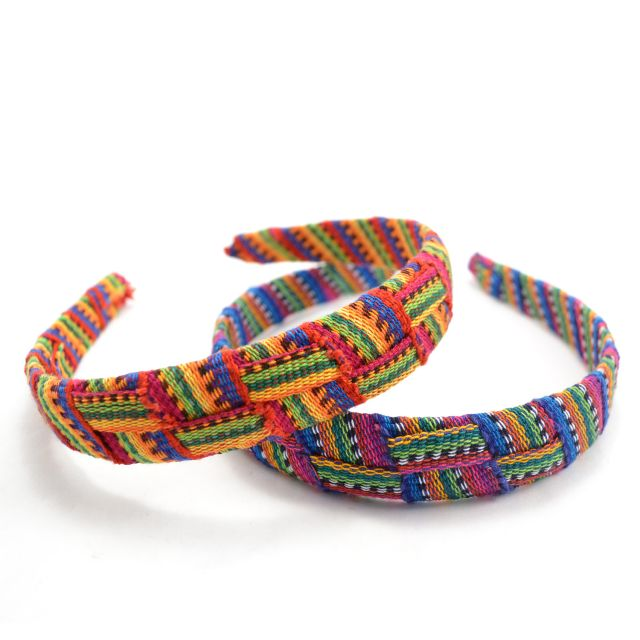 Toto Criss Cross Headband Fair Trade guatemala