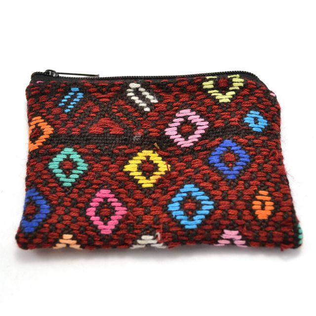 Fair Trade Handmade Guatemalan Upcycled Coin Bag