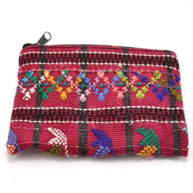 Fair Trade Handmade Guatemalan Upcycled Coin Bag