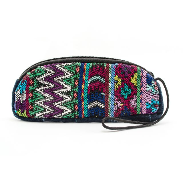 Fair Trade upcycled padded eyeglass case guatemalaFair Trade upcycled padded eyeglass case guatemala