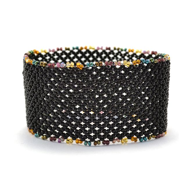 Lattice Cuff in Black