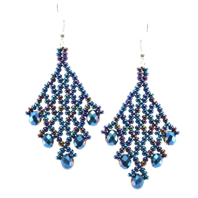 Emma Earring turquoise brown