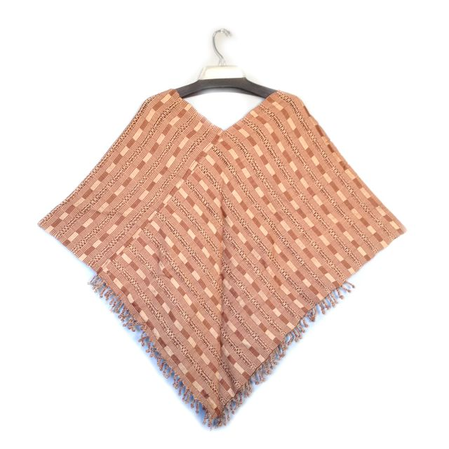 San Juan Poncho in Tan