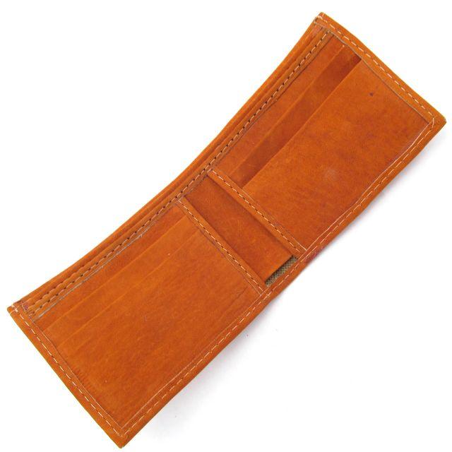 Guatemalan fair trade leather wallet