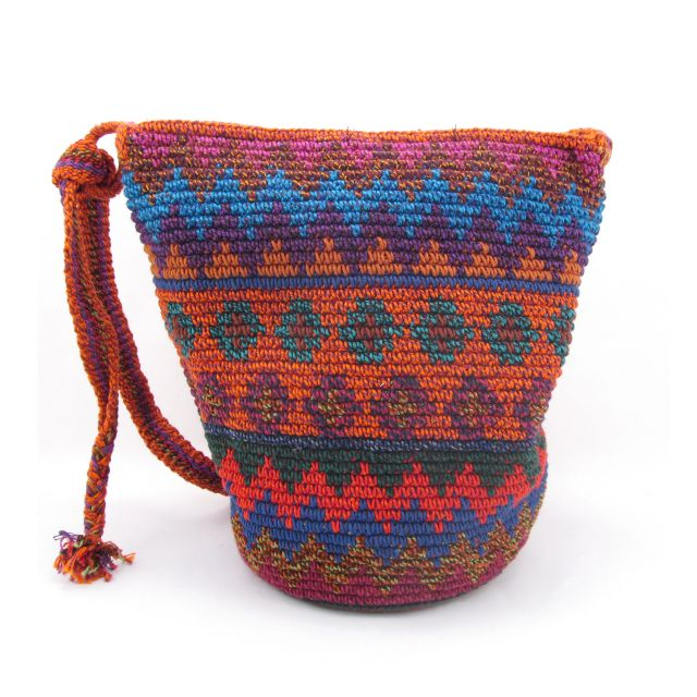 Fair Trade Medium Adjustable Nebaj purse