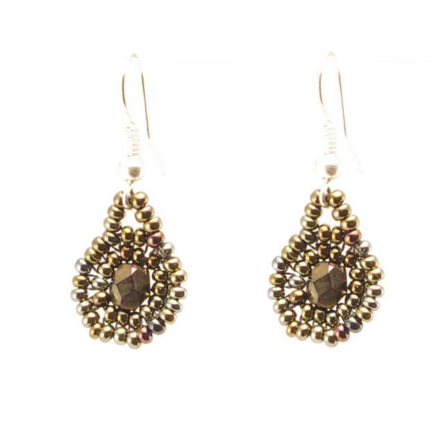 Fair Trade, Handmade, Artisan, Guatemalan, Earring, Beaded
