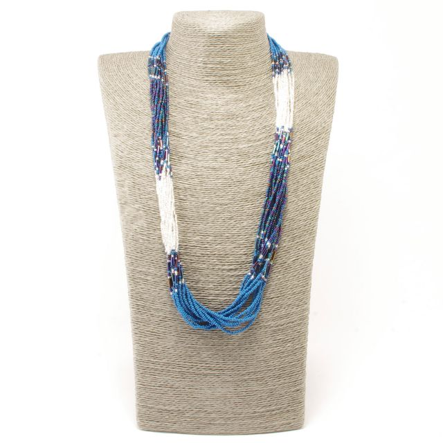 Fair Trade Handmade Guatemalan Beaded Comet Necklace