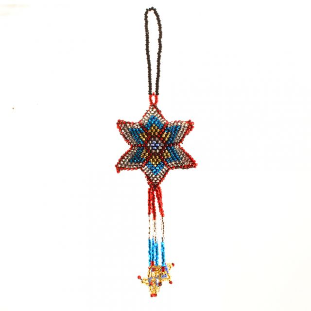 Fair Trade Handmade Guatemalan Beaded Ornament