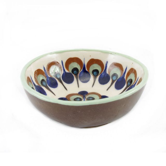 Fair trade bowl handmade in San Antonio Palopo Guatemala