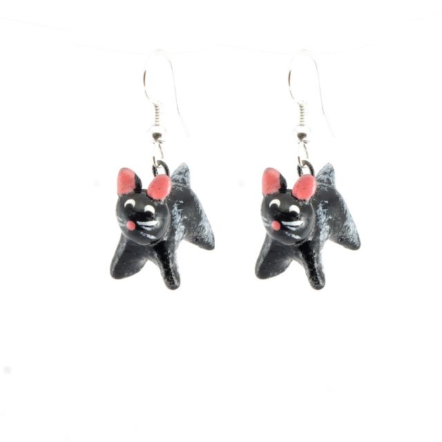 Lucia's Imports Fair Trade Handmade Guatemalan Ceramic Earrings