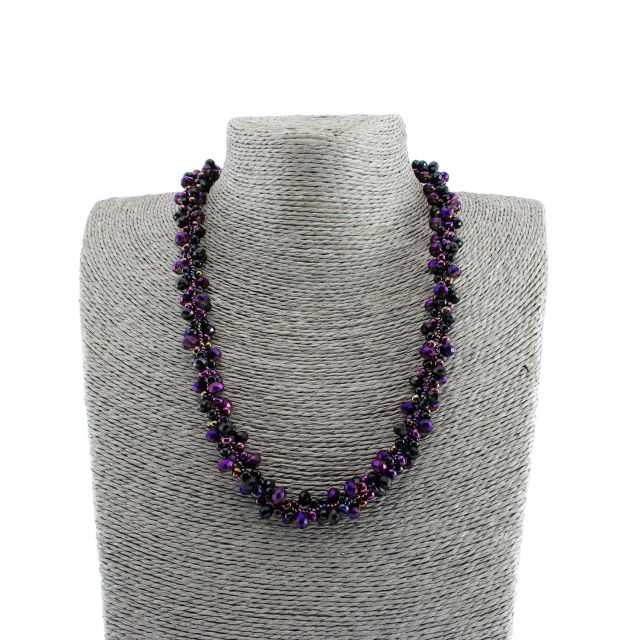 Lucia's Imports Fair Trade Handmade Guatemalan Beaded Astrid Necklace