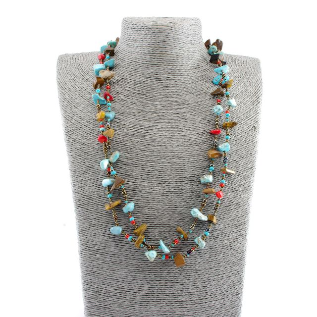 Fair Trade Handmade Beaded Guatemalan Southwest Necklace