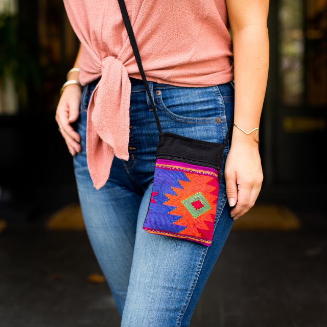 Fair Trade Diamond Passport Purse