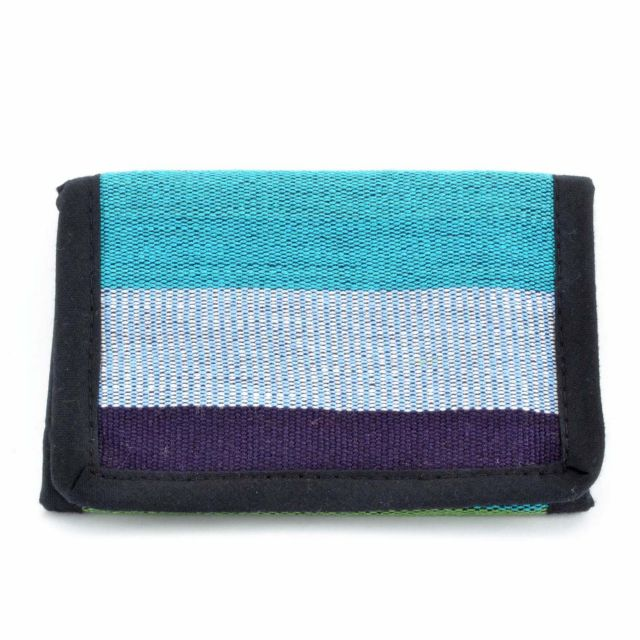 Fabric Wallet, Wallet, Fair Trade, Guatemala, Handmade, Artisan, Zipper, Billfold, Velcro