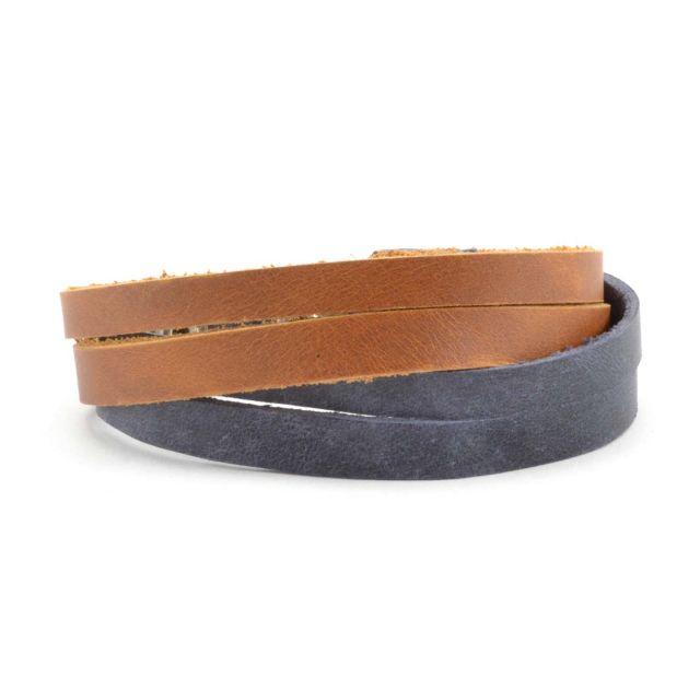 Fair Trade Leather Bracelet for men or women