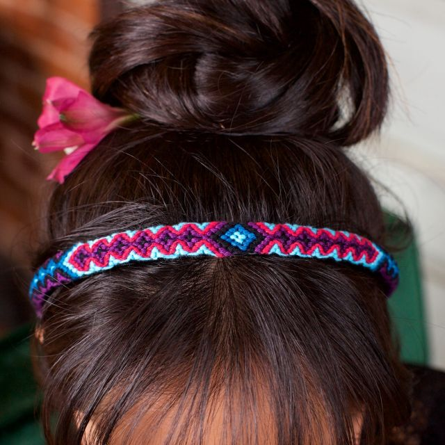Friendship Headband Handwoven Guatemalan Fair Trade
