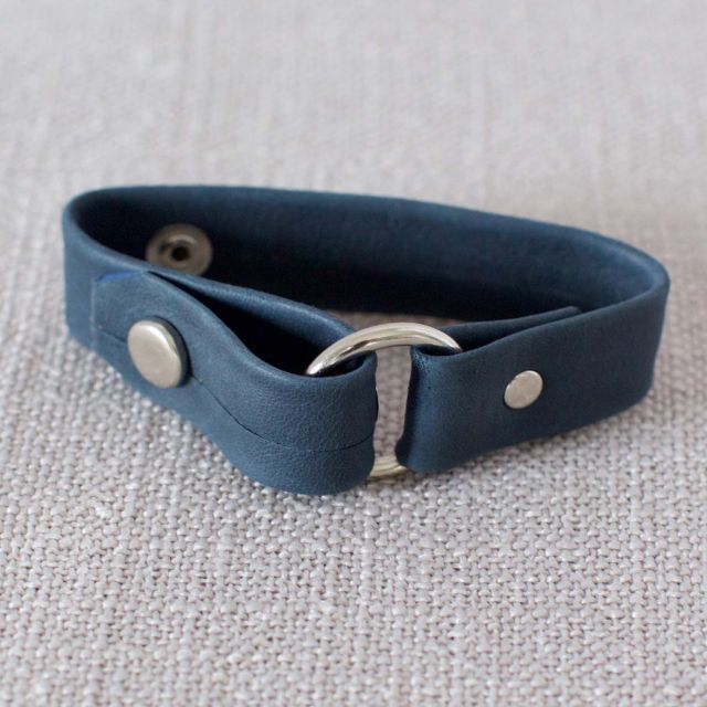 Lucia's Imports Fair Trade Guatemalan Leather Belt Bracelet