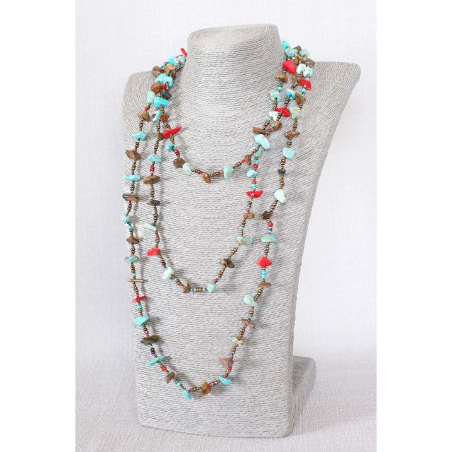 Lucia's Imports Fair Trade Handmade Beaded Guatemalan Southwest Necklace