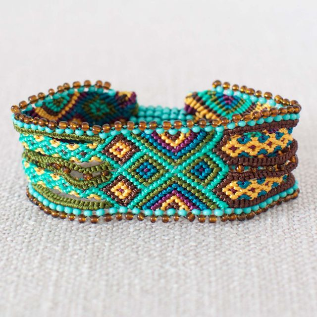 Woven Magnetic Friendship Cuff Magnetic