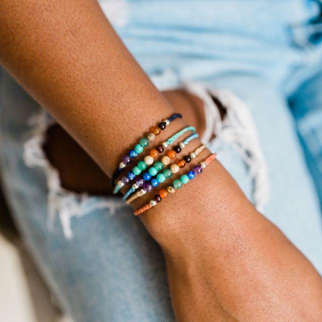 Lucia's Imports Wholesale Fair Trade Handmade Guatemalan Chakra Bracelet