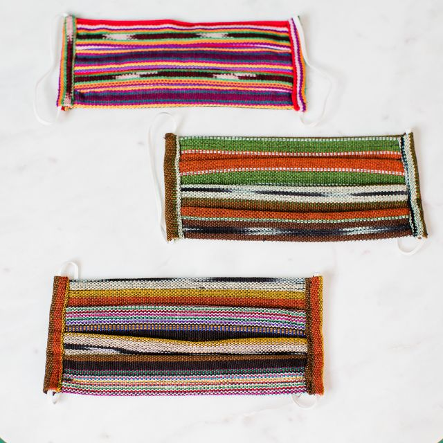 Ikat Cotton Face mask