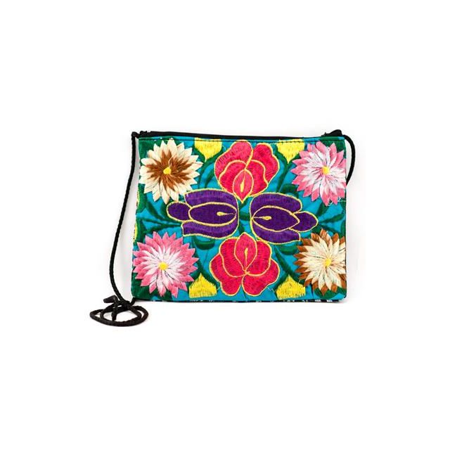 A-10A Embroidered Flower Passport