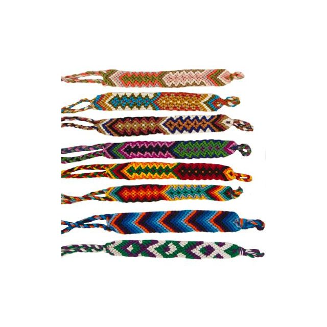 A-111 wide friendship bracelet