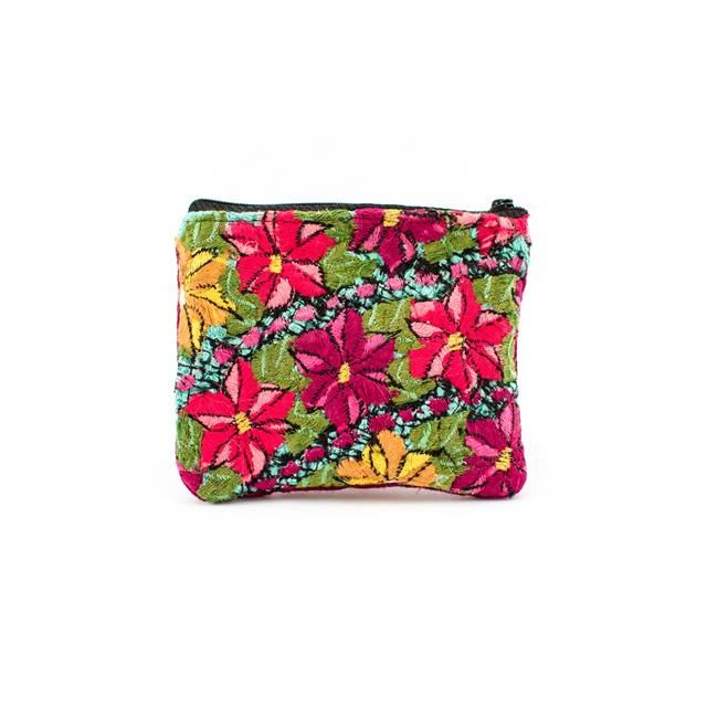 Flower coin bag