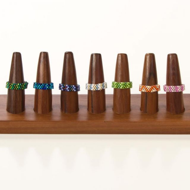 JR-3  Small Beaded Ring