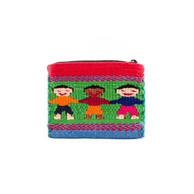 Fair Trade Santiago People Coin Bag