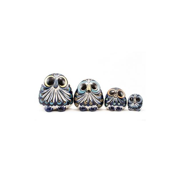 Guatemalan fair trade ceramic owl