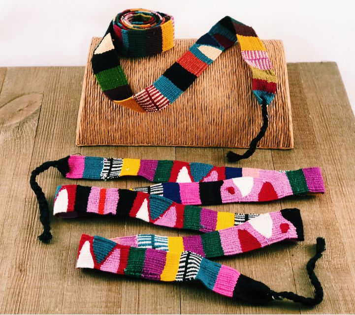 Lucia's Imports Fair Trade Handmade Guatemalan Toto Sash Belt or Headband