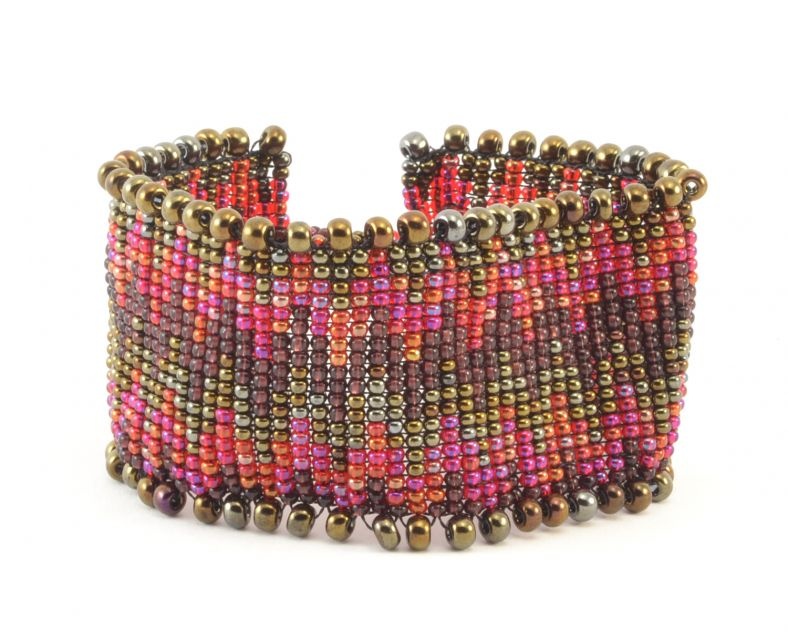 Fair Trade Handmade Guatemalan Beaded Harmonia Bracelet