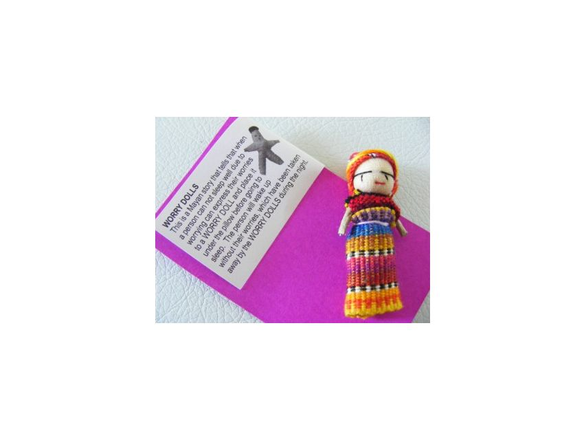 Worry Doll Barettes Kids Worry Doll Barettes Kids AccessoriesAccessories