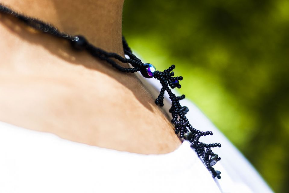 Fair Trade Handmade Guatemalan Beaded Julianne Choker Necklace