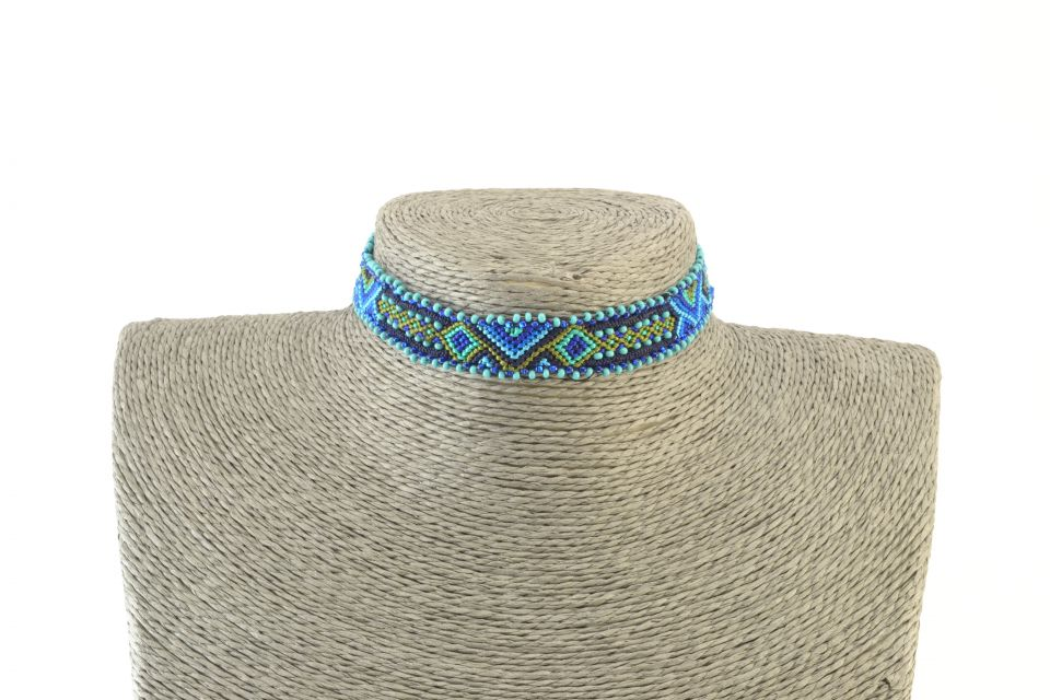 Lucia's Imports Wholesale Fair Trade Handmade Guatemalan Aphrodite Choker Necklace and Hairband Headband
