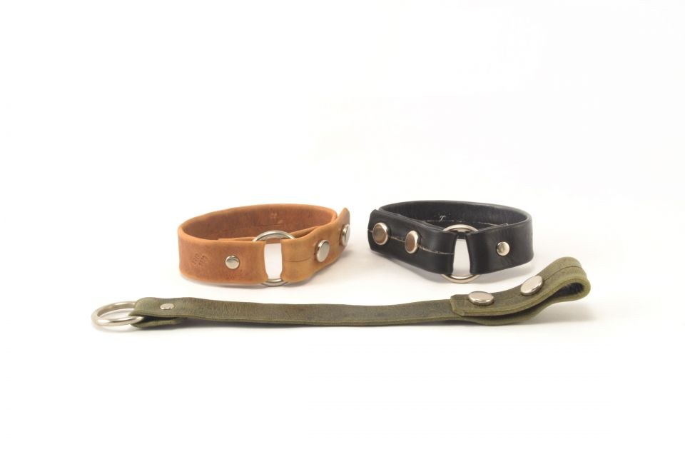 Fair Trade Guatemalan Men's Leather Bracelet